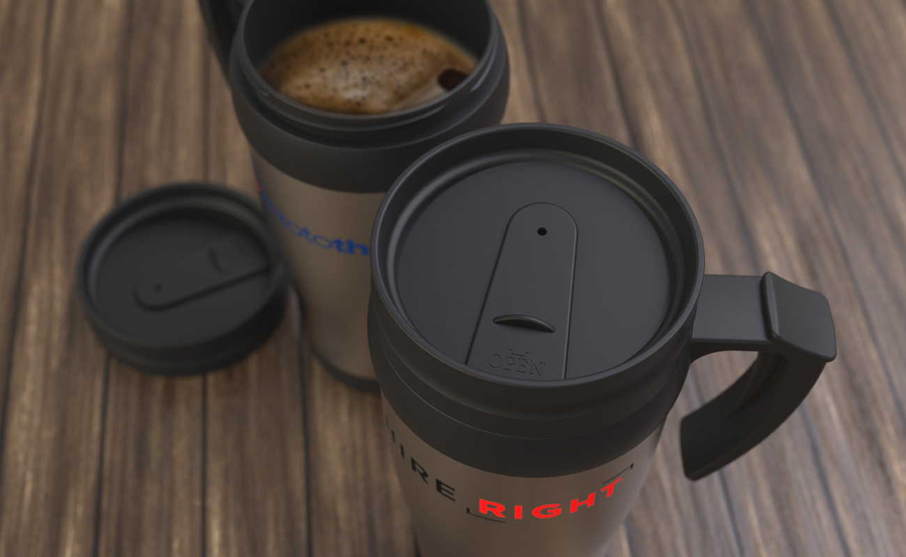 Thermo - Branded Travel Mug